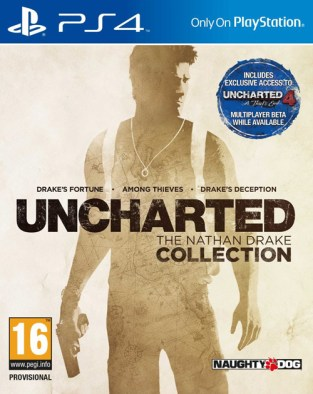 Uncharted: The Nathan Drake Collection PS4 Cover