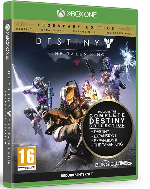 Destiny: The Taken King XBOX One Cover