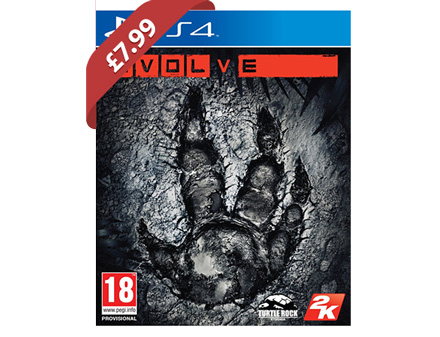 Evolve (PS4/Xbox One) £7.99 @ Base