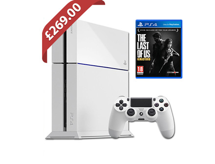 White PS4 deal