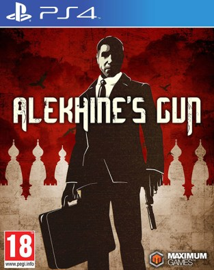 Alekhine's Gun PS4 Cover