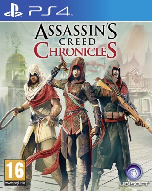 Assassin's Creed Chronicles PS4 Cover