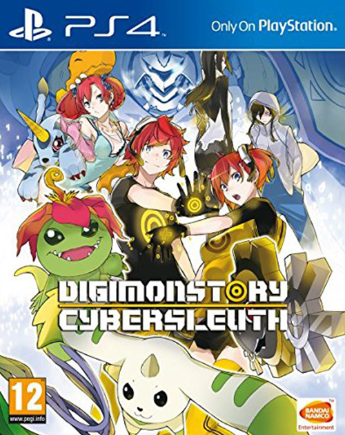 Digimon Story: Cyber Sleuth PS4 Cover