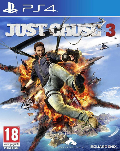 Just Cause 3 PS4 Cover
