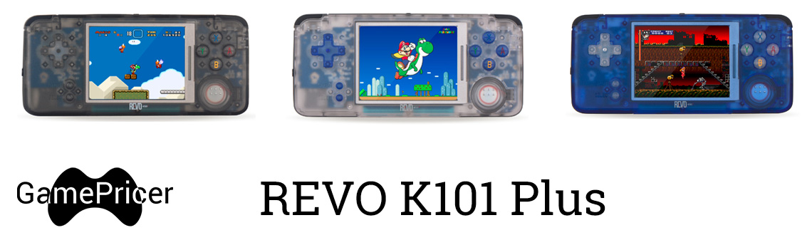 Revo K101 Plus - GBA Clone - Console Highlight