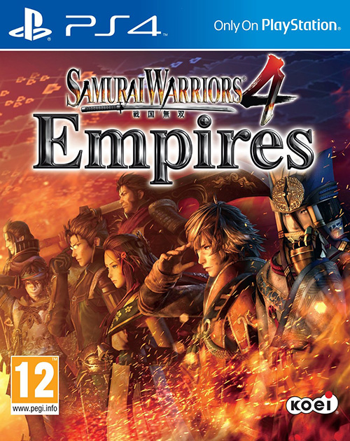 Samurai Warriors 4 Empires PS4 Cover