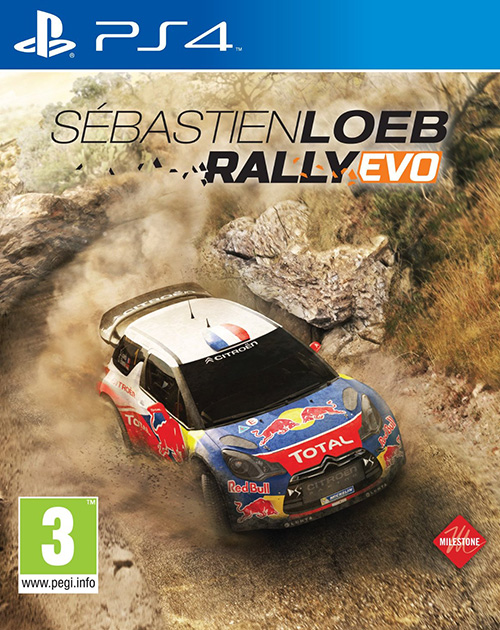 Sébastien Loeb Rally Evo PS4 Cover