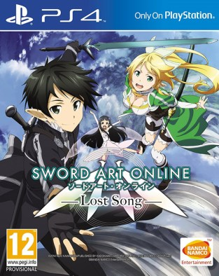 Sword Art Online: Lost Song PS4 Cover
