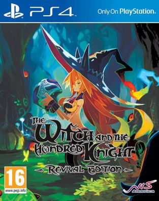 The Witch and the Hundred Knight: Revival Edition PS4 Cover