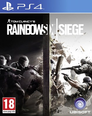 Tom Clancy's Rainbow Six Siege PS4 Cover