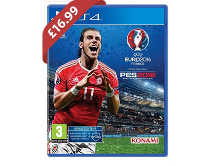 PES 2016 Uefa Euro 2016 Edition (PS4) - £16.99 @ Argos
