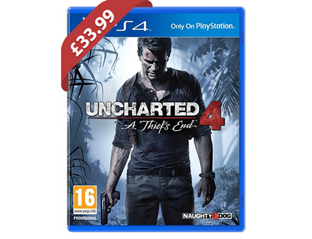 Uncharted 4: A Thief's End Launch Edition (PS4) - £33.99 @ Shopto / eBay