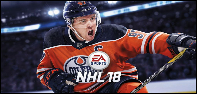 """NHL 18"" – Shooting Star Connor McDavid wird EA SPORTS Coverstar"