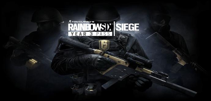 """""""Tom Clancy's Rainbow Six Siege"""" – """"Year 3 Pass"""" ab heute erhältlich"""