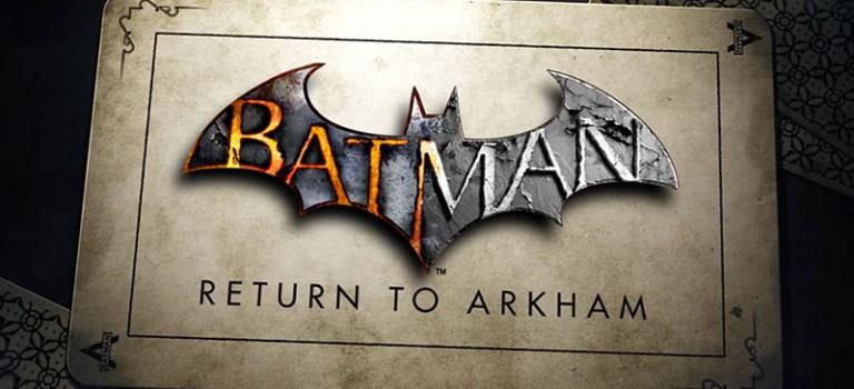 Warner hizo oficial la llegada del bundle Batman: Return to Arkham