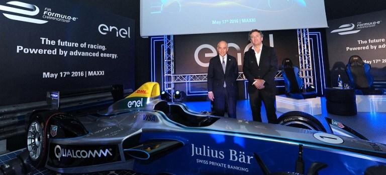 Enel se une a la Fórmula E para reducir las emisiones de CO2 en el ambiente