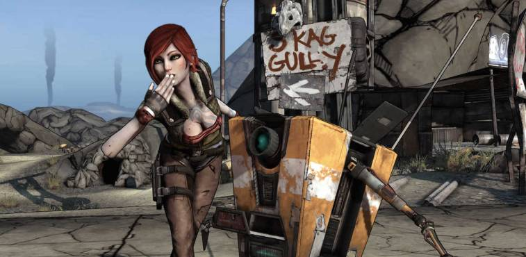 Lilith and Claptrap
