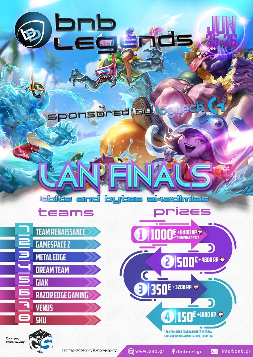 Recap : BnB Legends Finals powered by Logitech