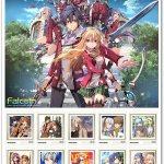 『軌跡』シリーズ歴代人気キャラクターを描いた「10周年記念切手セット」が3月27日に発売!