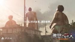 『進撃の巨人』CM「巨人、襲来。」公開!ゲーム初心者の石川由依さん(ミカサ役)が本作に挑戦するプレイ映像も