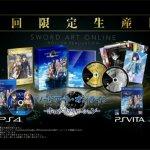 PS4/Vita『ソードアート・オンライン -ホロウ・リアリゼーション-』予約受付がスタート!