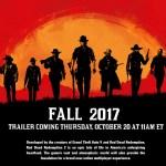 『Red Dead Redemption 2』2017年秋リリースが正式発表!10月20日にトレーラー公開!