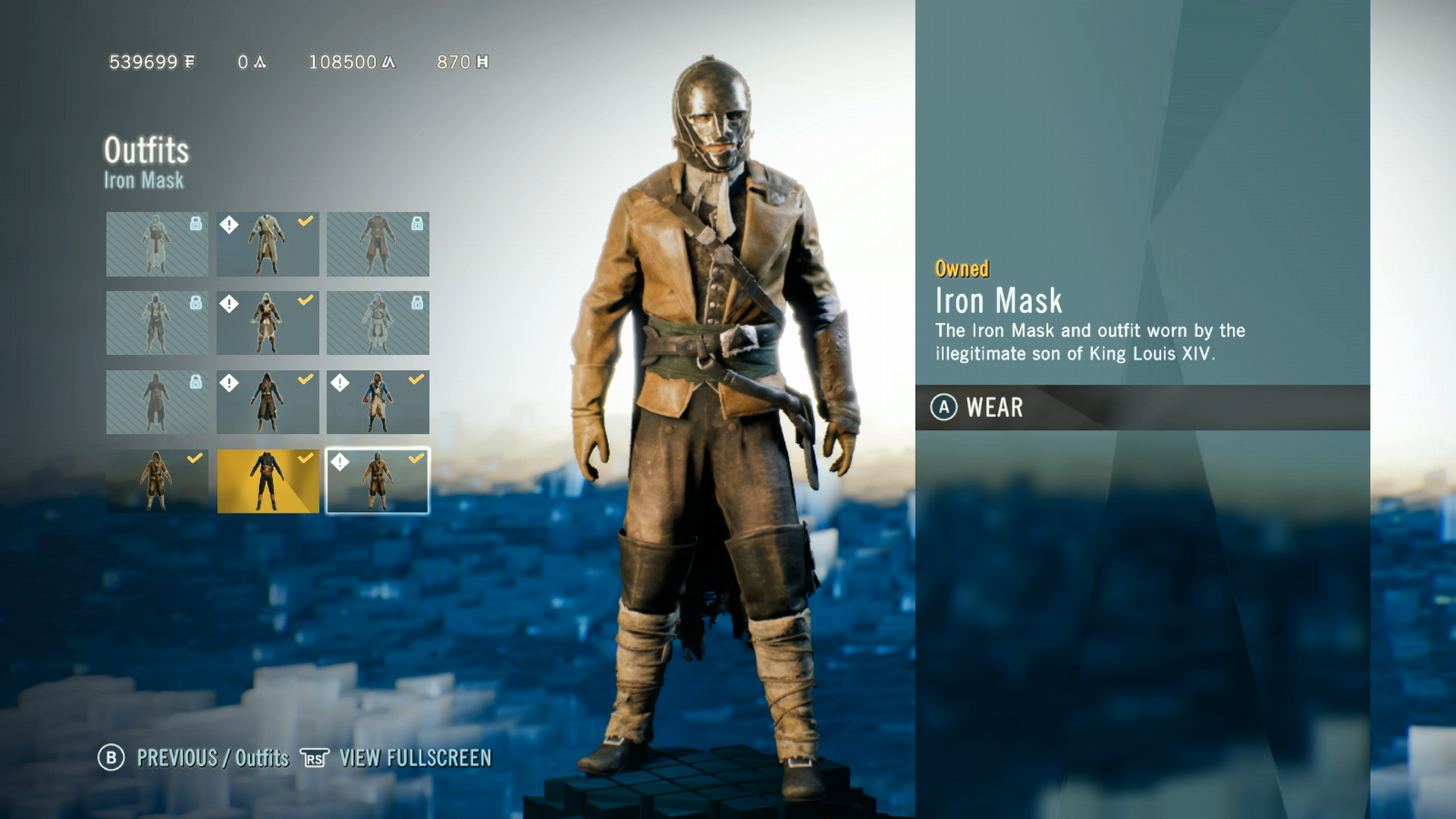 Assassinu2019s Creed Unity u2013 Unlock All New Outfits in Dead Kings DLC Guide | GamesWiki