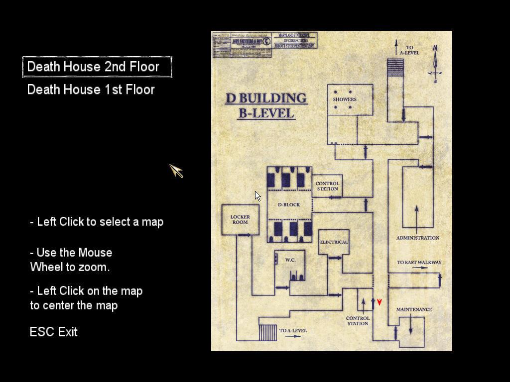 Fullsize Of Death House Map