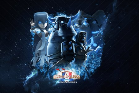 clash of clans blue