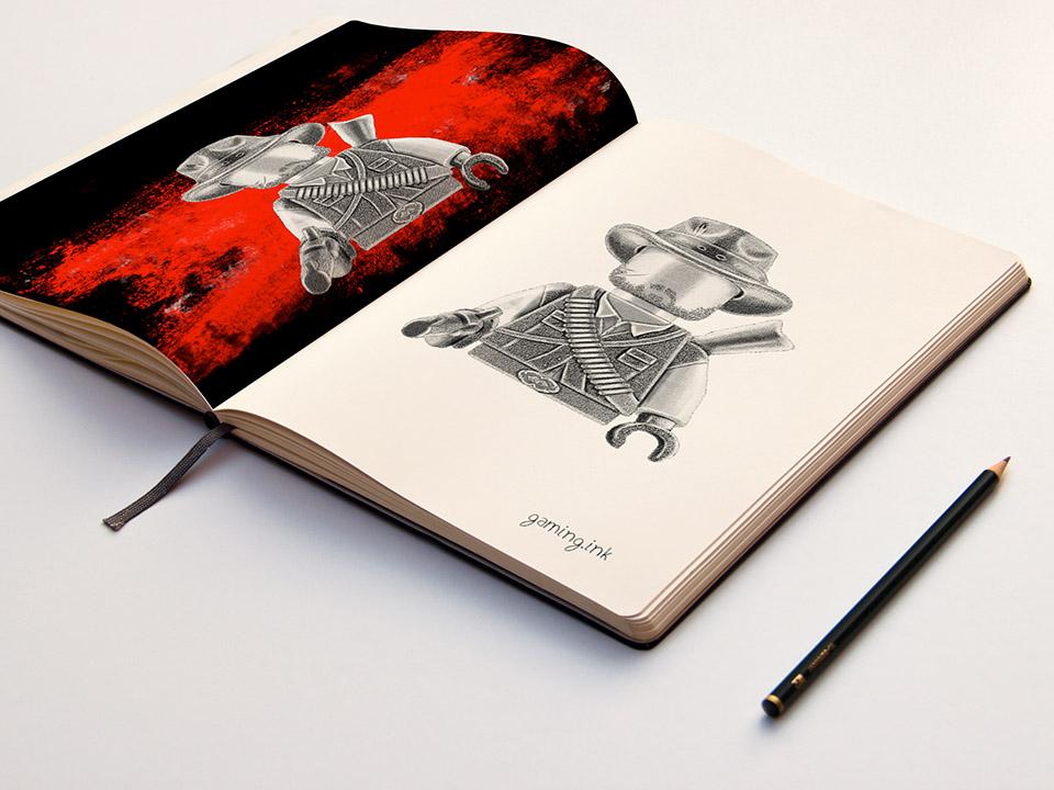 Marston SketchBook 960