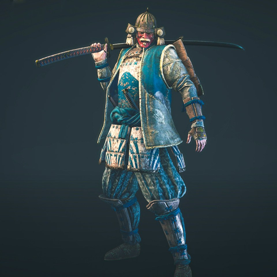 The Kensei hero from the For Honor game Closed Alpha.