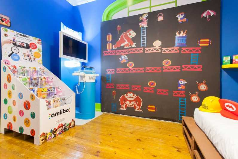 Donkey Kong-Szenario. (Foto: Airbnb)