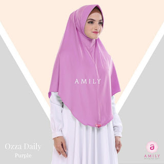 Hijab Amily Ozza Daily Purple