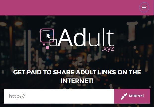 Adult.xyz el nuevo acortador de adf.ly