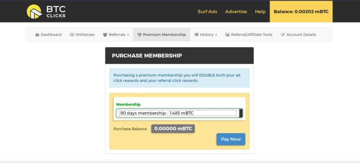 membership premium