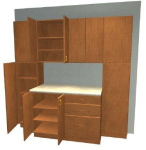 Build Garage Cabinets Like These