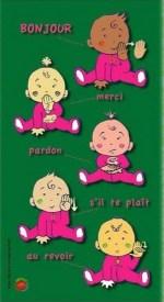 langage des signes - bébé bonjour