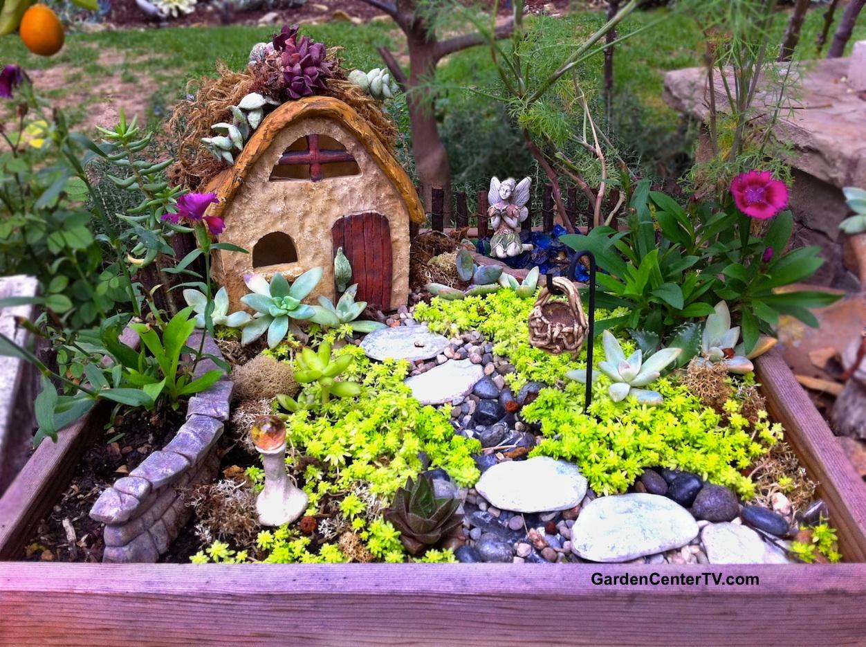 Manly Miniature Guide Video Inexpensive Garden Fairies Make A Fairy Garden Miniature Guide Video Gardencenter Tv Make A Fairy Garden garden Cheap Garden Fairies