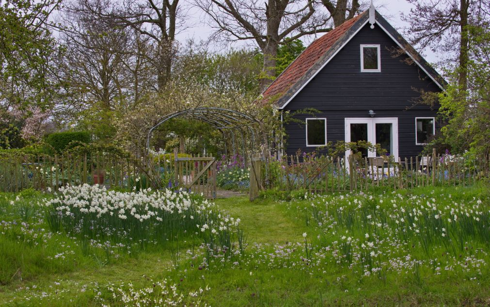 Appartement garden guesthouse for Tuinbladen nl