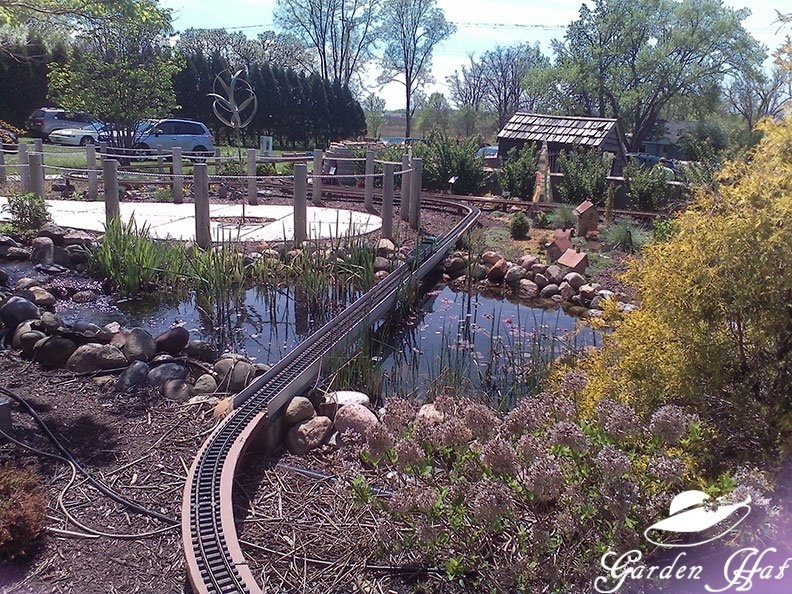 Burlington Wi Garden Center Train Garden