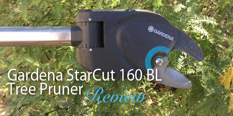 gardena starcut 160 bl tree pruner product review. Black Bedroom Furniture Sets. Home Design Ideas