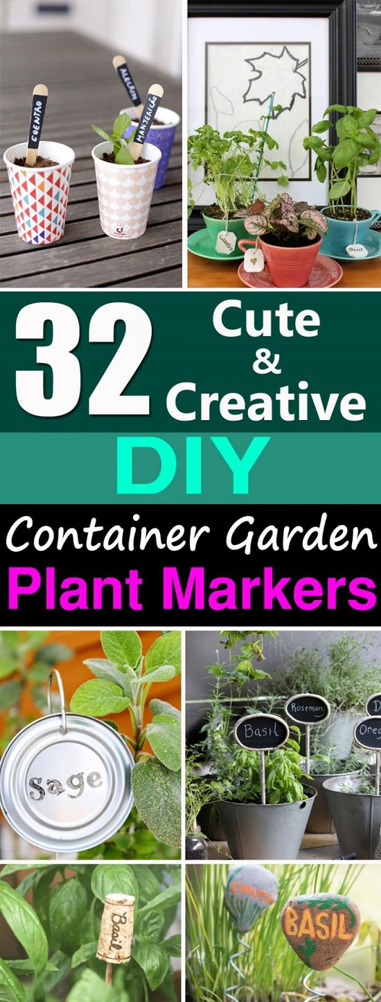 Hilarious Your Container Diy Plant Marker Ideas Plant Markers Container Gardeners Gardening Viral Diy Gardening Containers Diy Gardening Container Ideas Make Se garden Diy Gardening Containers