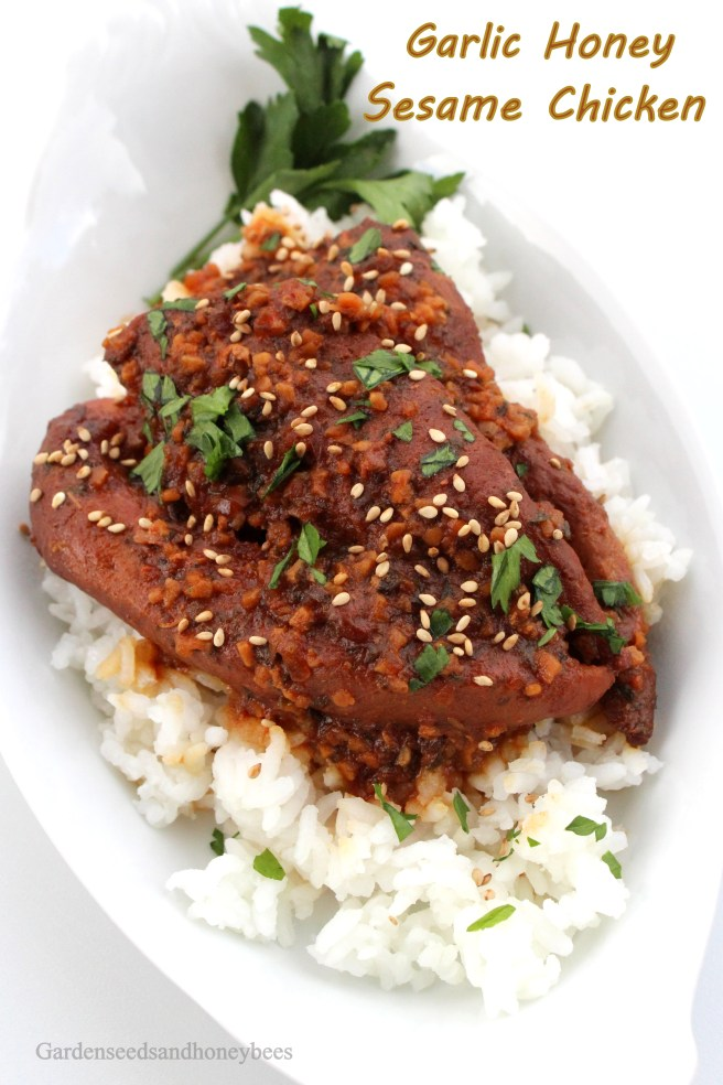 Garlic Honey Sesame Chicken