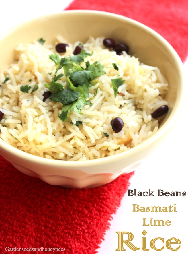 Black Bean Basmalti Lime Rice