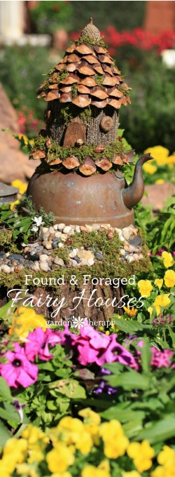 Rousing How To Make A Foraged Fairy House Inspiration Gallery Whimsical Foraged Fairy Houses You Would Think Were Actually Made By Fairy House Garden Ideas Fairy House Garden
