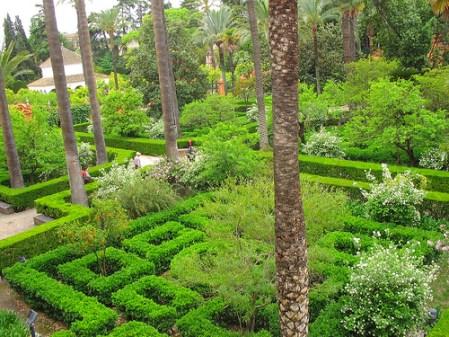 Alcazar Gardens in Cordoba. Photo Ruth L