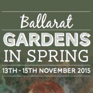 Ballarat Gardens in Spring 2015