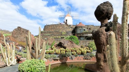 Jardin de Cactus, Lanzarote, Canary Islands