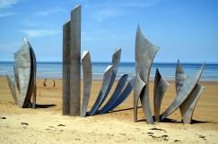 Omaha Beach D Day Memorial, Normandy, France