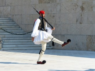 Greece, Athens - changing of the guard